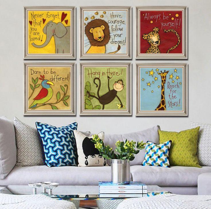Decorazione stanza bambini se volete fare qualcosa di - Decorazione parete cameretta ...