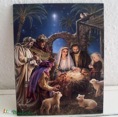 Jézus születése (Swari) - Meska.hu