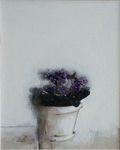 Title: Flori IX / Style: Acrylic on Canvas