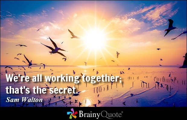 Working Together Inspirational Quotes: 17 Best Working Together Quotes On Pinterest