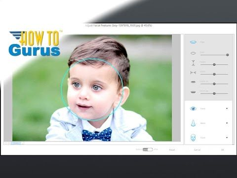 How to Use Adobe Photoshop Elements 15 Best 3 New Features Review and Tutorial. Facial Recognition, Layer Groups, Perspective Crop