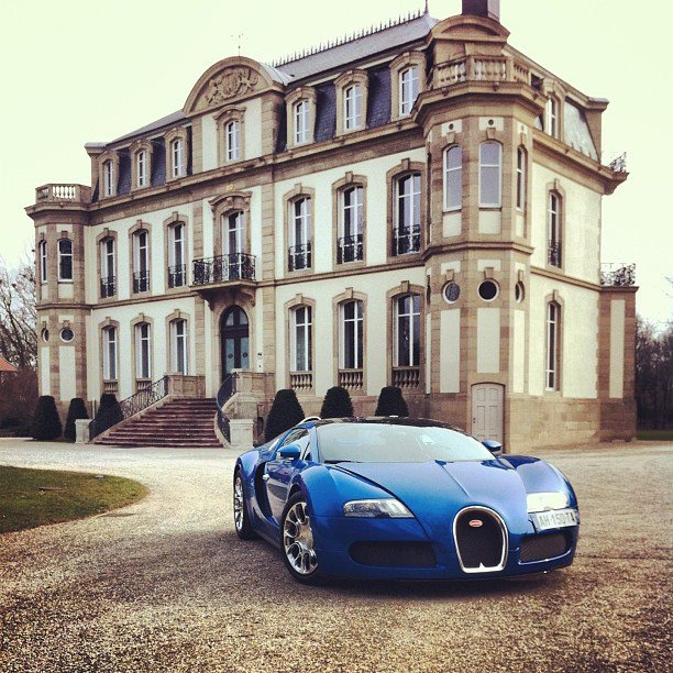 A Luxury Mansion L: A Bugatti Veyron To Go With My Mansion