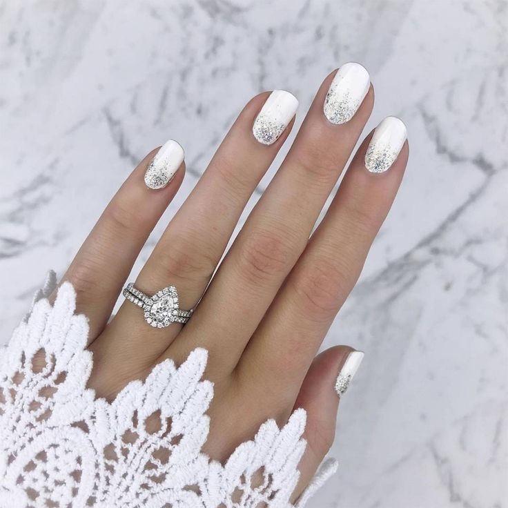 This is the manicure the chicest brides will be rocking at their wedding this season   – Wedding stuff