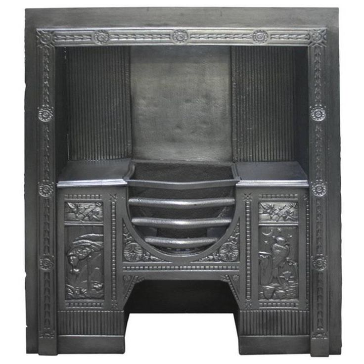 19th Century Antique Victorian Hob Grate | From a unique collection of antique and modern fireplace tools and chimney pots at https://www.1stdibs.com/furniture/building-garden/fireplace-tools-chimney-pots/