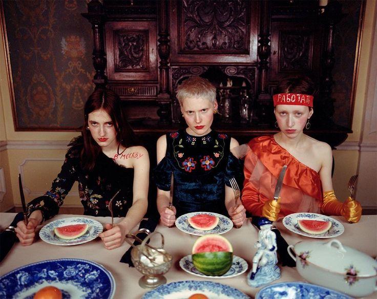 Съёмка Юлдус Бахтиозиной для Naya Rea по мотивам пьесы «Три сестры». Изображение № 8.