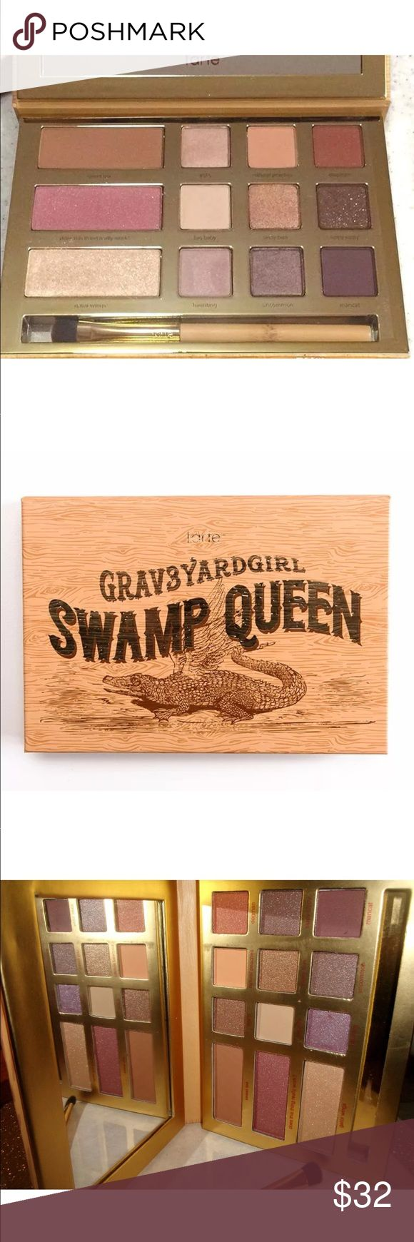 ❤️BNIB GRAVEYARD GIRL PALETTE❤️ Brand new! Tarte Swamp Queen Eye & Cheek Palette by Youtuber and Beauty Influencer Graveyard Girl ❤️ your funds help support cancer❤️ tarte Makeup Eyeshadow