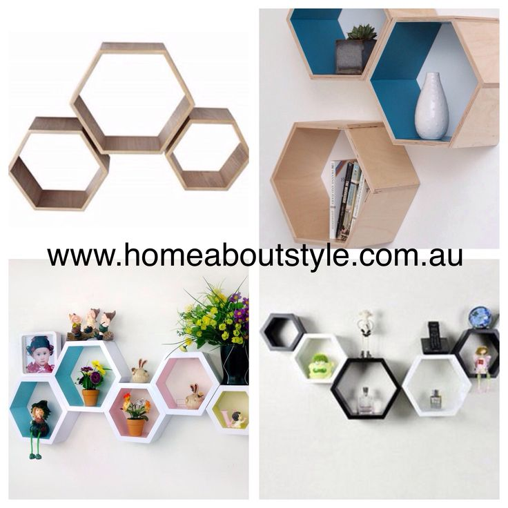 Modern in style and a cool way to show off your favorite treasures!! Buy a couple of set and fit them together in any arrangement, paint them or leave them raw. The Cell Wall Shelves... The possibilities are endless!! $149 (set of 3) www.homeaboutstyle.com.au wall shelves @home_about_style #interiordesign #homedecor #homeaccessories #wallshelves #beautifulhomes #homedecorating #decoratingideas #fillemptyspaces #theblock #hexagonalwallshelves #kidsrooms #theblock #pickoftheday #homeaboutstyle