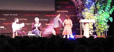 Benedict Cumberbatch and Louise Brealey I am so done