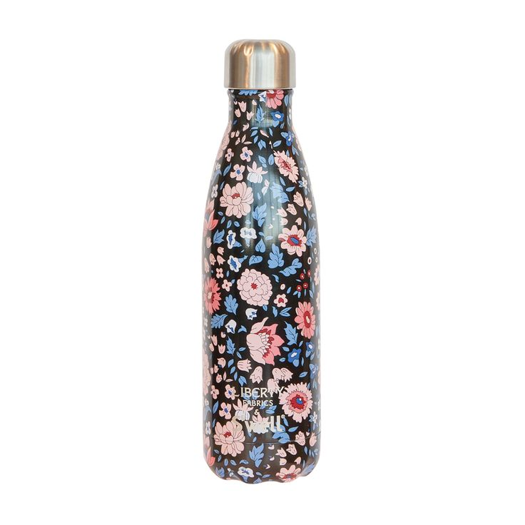 Starbucks Singapore 2017. Collaboration Liberty Fabrics S'well Bottle -D'Anjo Noir $59.90