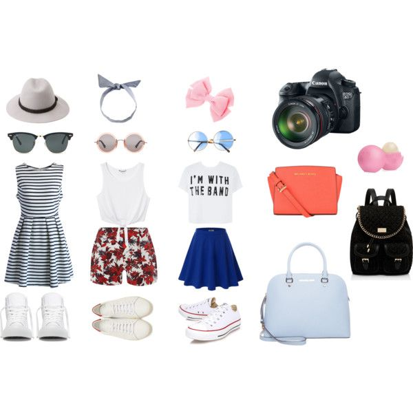 PRIMER DÍA EN NY by communitymanagertav on Polyvore featuring moda, Chicwish, Monki, Therapy, Doublju, Yves Saint Laurent, Converse, MICHAEL Michael Kors, Forever New and J.Crew