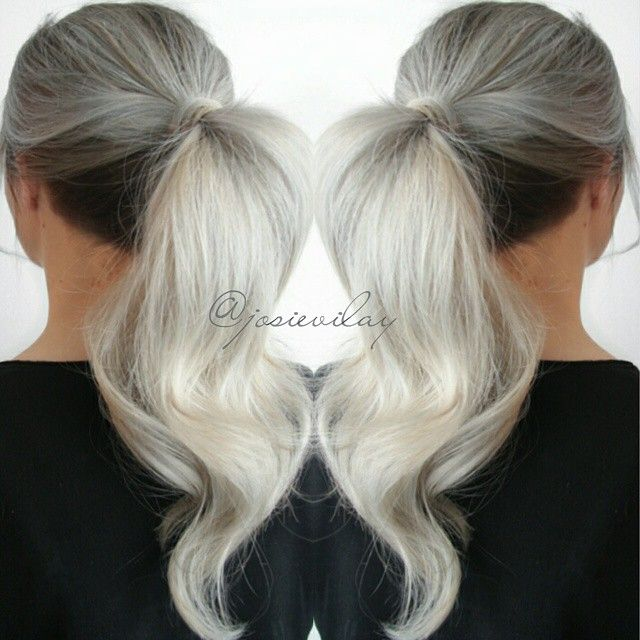 26 best Ponytails images on Pinterest | Hair dos, Long hair and Braids