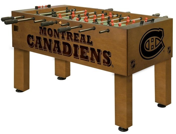 Use this Exclusive coupon code: PINFIVE to receive an additional 5% off the Montreal Canadiens Foosball Table at sportsfansplus.com