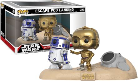 Oooh baby! Now available at Collekt; Star Wars - Escap...  come and get it http://www.collekt.co.uk/products/star-wars-escape-pod-landing-222?utm_campaign=social_autopilot&utm_source=pin&utm_medium=pin #Funko #funkopop #Funkouk
