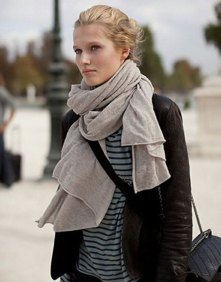 How do you wear a scarf? Endless Ways