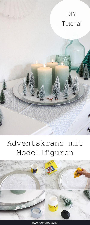 Winterwald-Adventskranz