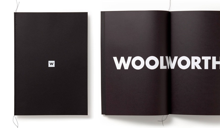 #woolworths south Africa #brand book #Massimo Vignelli #frost design #vince frost