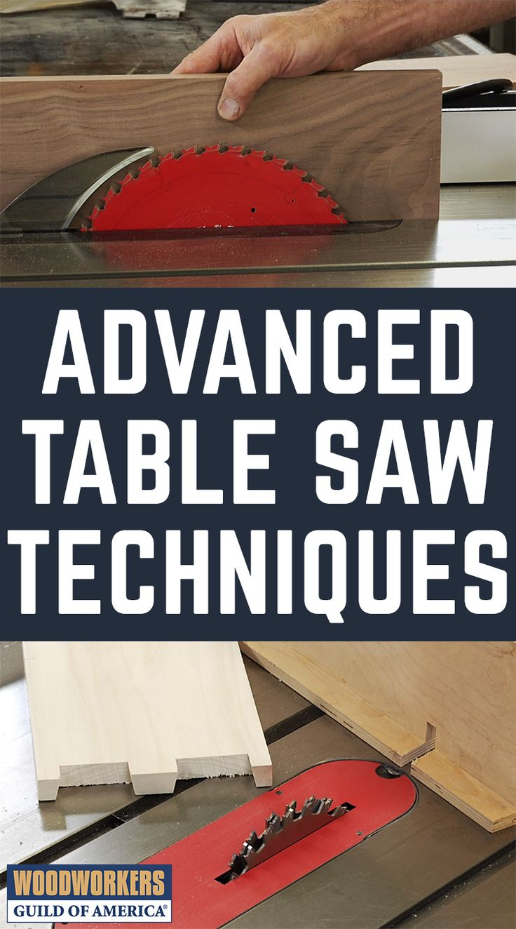DIY Woodworking Ideas While it's true that a table saw excels at ripping, crosscutting and dadoes, t...