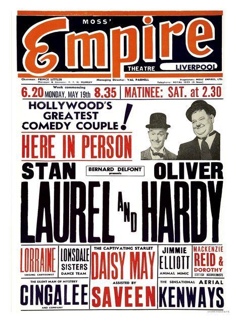 Vintage Theatre Poster - Empire Theatre -  Liverpool - England