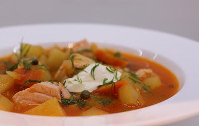 Ninnin Köökki: Seljanka - Russian style soup