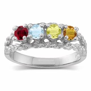 Family Jewelry - Helzberg Diamonds - I would love to have a ring with all our birthstones in it.