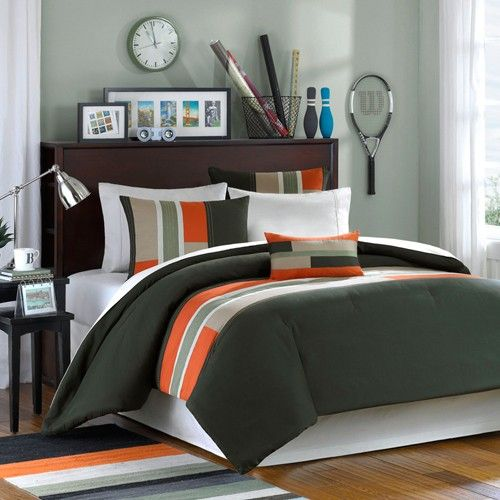 Mizone Pipeline Olive Bedding By Mizone Bedding, Comforters, Comforter Sets, Duvets, Bedspreads, Quilts, Sheets, Pillows