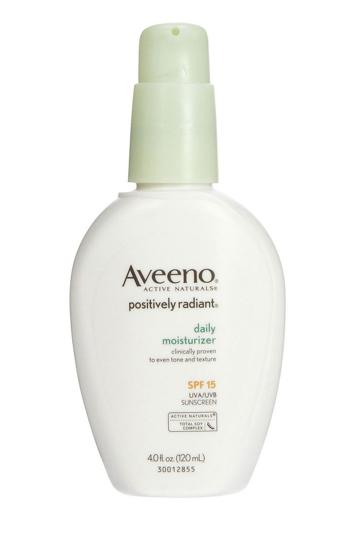 Spf 15 moisturizer by Aveeno