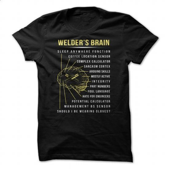 Welder - #womens #make your own t shirts. CHECK PRICE => https://www.sunfrog.com/Jobs/Welder-93372195-Guys.html?60505