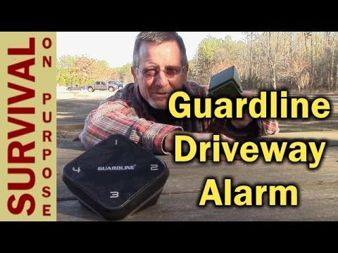 Guardline Driveway Alarm and Motion Detector - Portable Security System - YouTube