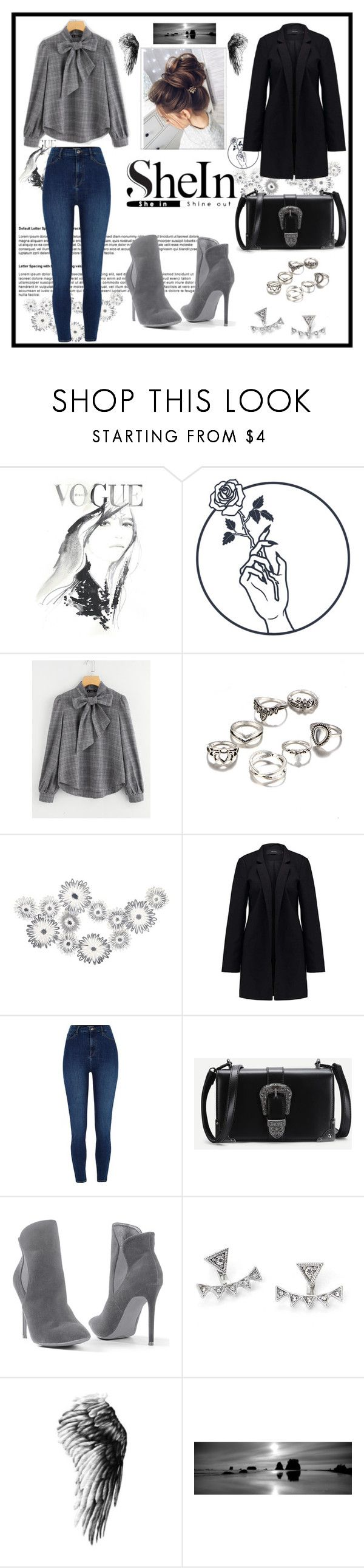 """Shein.."" by vellfe ❤ liked on Polyvore featuring Vero Moda, River Island and Venus"