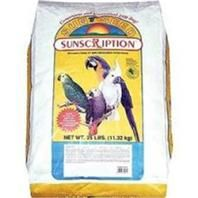 Vitakraft Pet Products - Vita Prima Suncription Large Hookbill Formula - 25 Lb - 087535490650. • A Sunflower Free, Nutritionally Fortified, Mixed Seed and Pelleted Diet With Vitamins A, D, E & Calcium • Dha Omega 3 S For Healthy Skin & Feathers, Probiotics To Support Digestive Health  Ingredients: Wheat, Safflower Seed, Peanuts, Buckwheat, Oat Groats, White Millet, Flaked Corn, Red Millet, Ground Corn, Pumpkin Seed, Corn Gluten Meal, Dehulled Soybean Meal, Ground Wheat, Wheat Middlings.