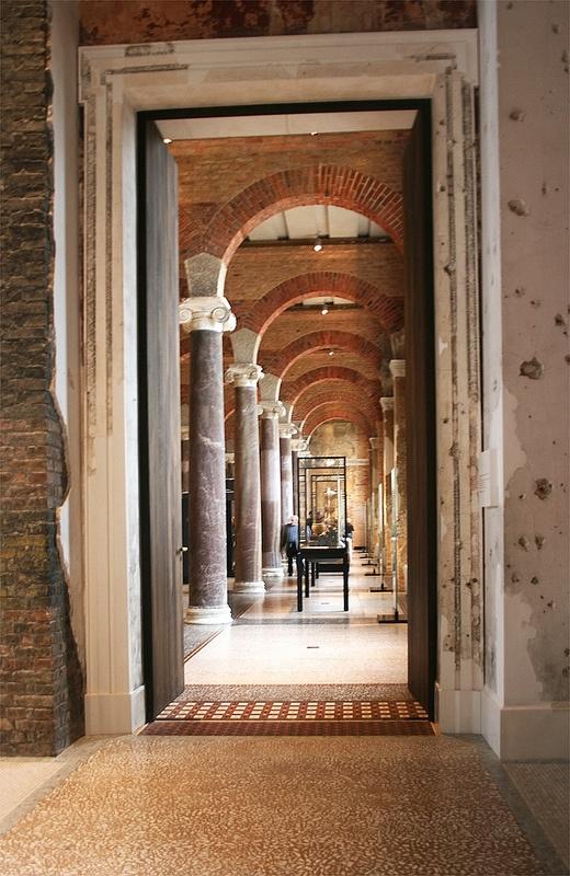 Neues Museum, Berlin 2011 by Spiegelneuronen, via Flickr