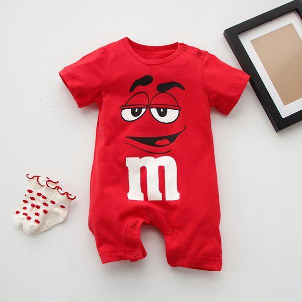 สยามเสื้อผ้าเด็กทารกเพศหญิงในช่วงฤดูร้อนในช่วงฤดูร้อนของทารกเพศชายแขนสั้นชุดนอน Romper แรกเกิด 0-3 เดือน