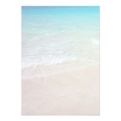 Turquoise Ocean Beach Sand Background Paper  Zazzlecom  Writing  Correspondence  Beach