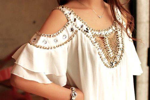 Embellished top.... Beautiful