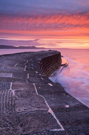 Sunset, Lyme Regis