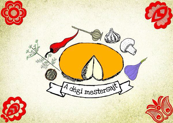 Graphic design for the master cheese of Dég
