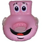 www.pottytrainingconcepts.com  Pink Character Inflatable Potty Seat - On the Go
