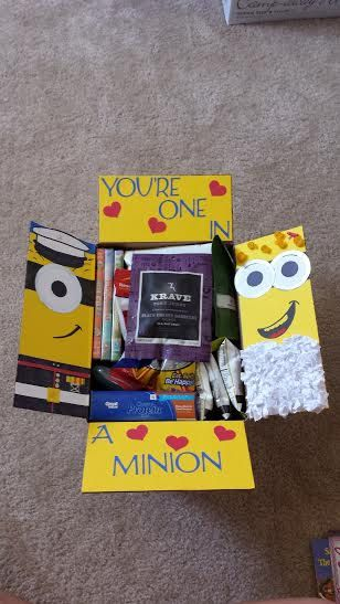 Despicable Me Care Package Flaps by Kaykes on Etsy, $8.00
