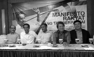 Manifesto Rakyat tak Berpartai Dukung Jokowi-JK