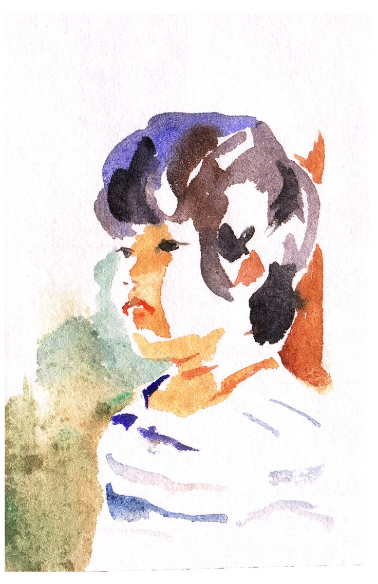 water color,2011 森島花