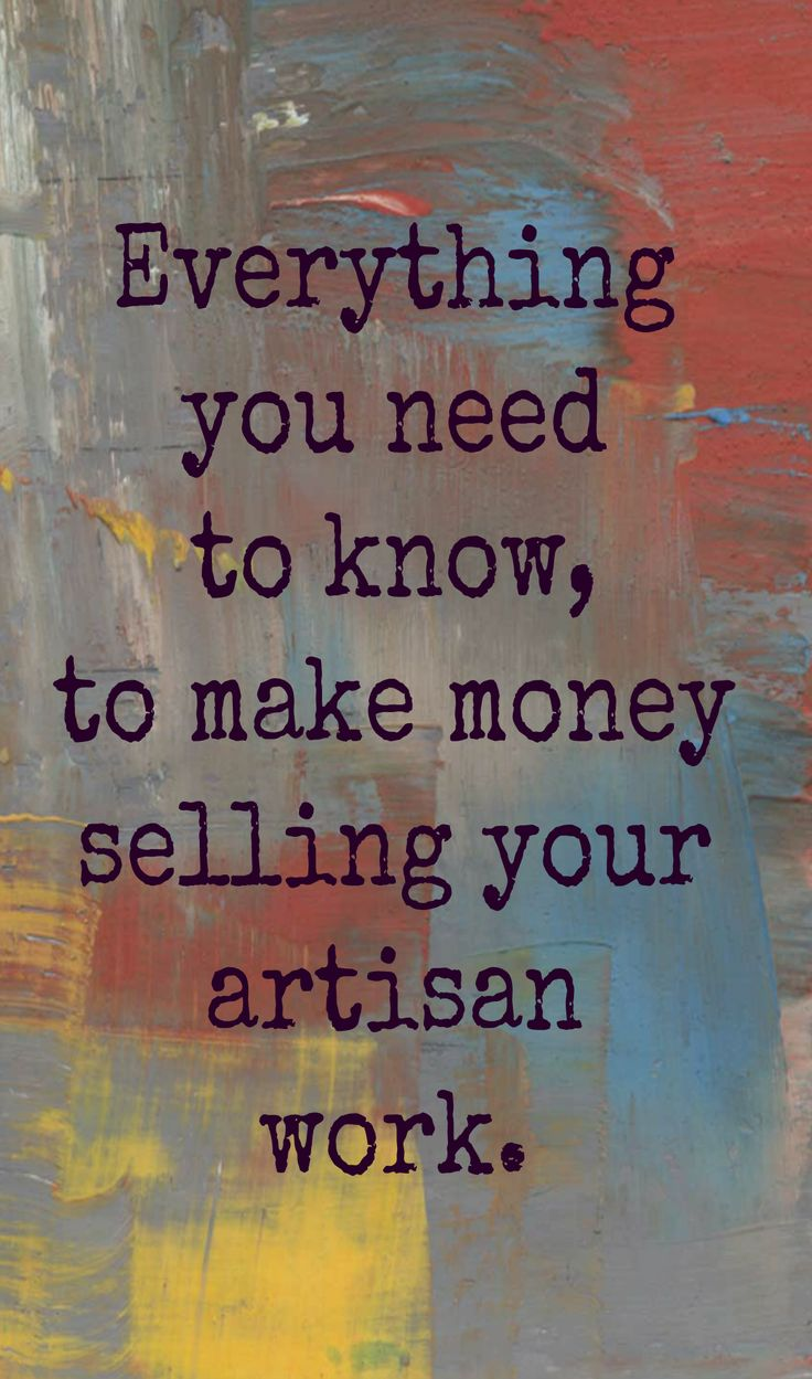 what you need to do before you start selling your art and