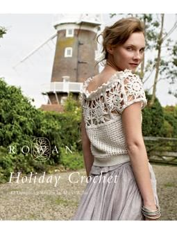 To celebrate the resurgence in interest of crochet and lace work, the team at Rowan have launched this new collection entirely focussed on this. Designs range from long fitted colourful cardigans to easy to wear pretty tops and shawls, and are worked in yarn favourites Cotton Glace and Panama, alongside the new Creative Linen yarn.