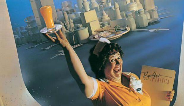 """http://buff.ly/YSlfHc - O clássico """"Breakfast in America"""" é o single do álbum com o mesmo nome lançado em março de 1979 pelos Supertramp. O disco vendeu milhões de cópias em todo o mundo e catapultou a banda britânica para o sucesso."""