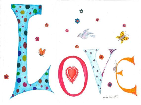 LOVE ~ It Comes From The Heart!!!  LOVE ~ With All Your Heart!!!