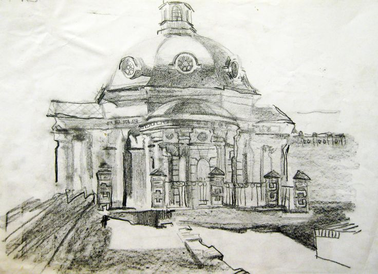 sketches by Zorina Getman (charcoal, pencil)