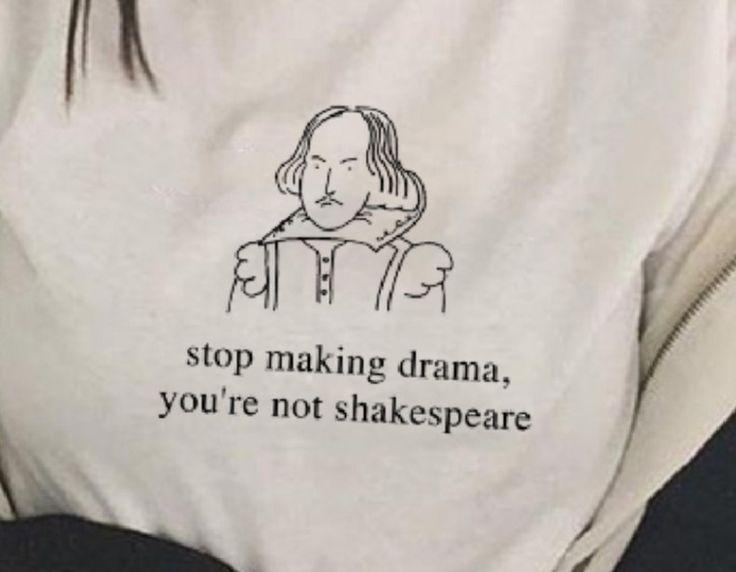 """,,Bist du Shakespear?"""" ,,Was? Nein."""" ,,Gut, dann h…"""