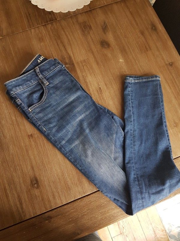 39ac5a0d685d95 Jean Slim American Eagle Outfitters | vinted | Pinterest | American ...