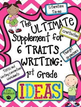 A Collection of Handouts and Graphic Organizers on the Six Traits and Steps in the Writing Process
