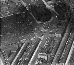 Middlesbrough Railway Station and environs, Middlesbrough, 1932 | Britain from Above