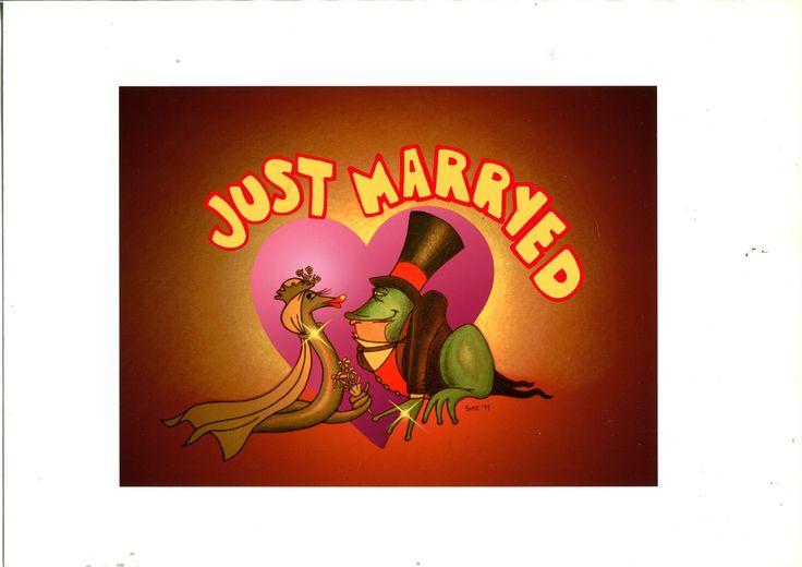 Illustrazione di Simone Lucchesi personalizzata per gli sposi .